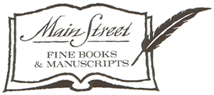Main Street Fine Books & Manuscripts