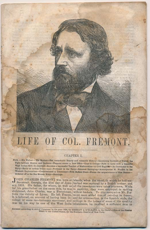 Life of Col. Fremont.