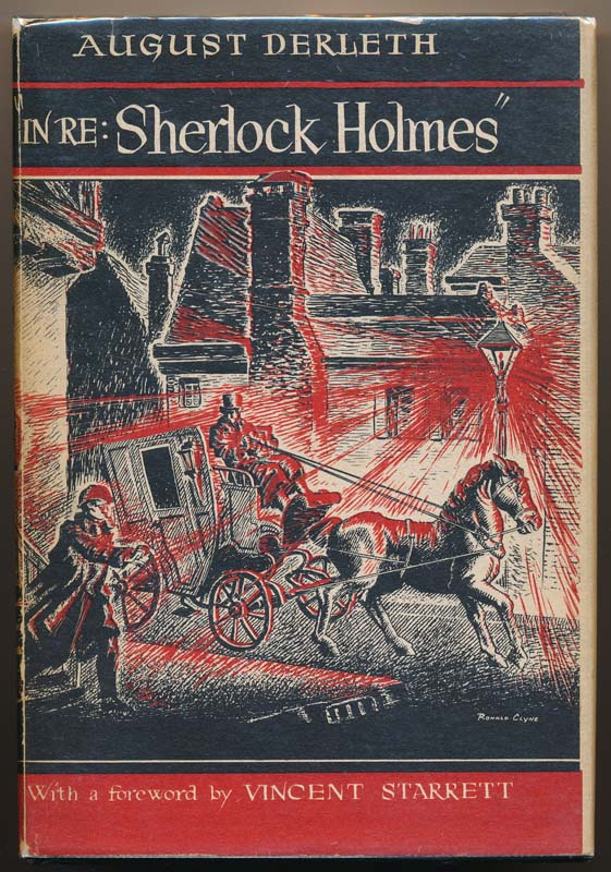 """In Re: Sherlock Holmes"" -- The Adventures of Solar Pons. August DERLETH."