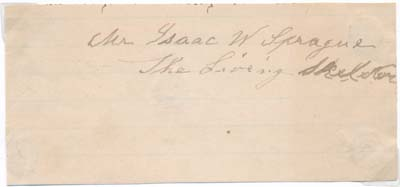 View Image 1 Of 2 For Signature Carte De Visite Isaac W