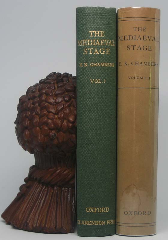 The Mediaeval Stage. E. K. CHAMBERS.