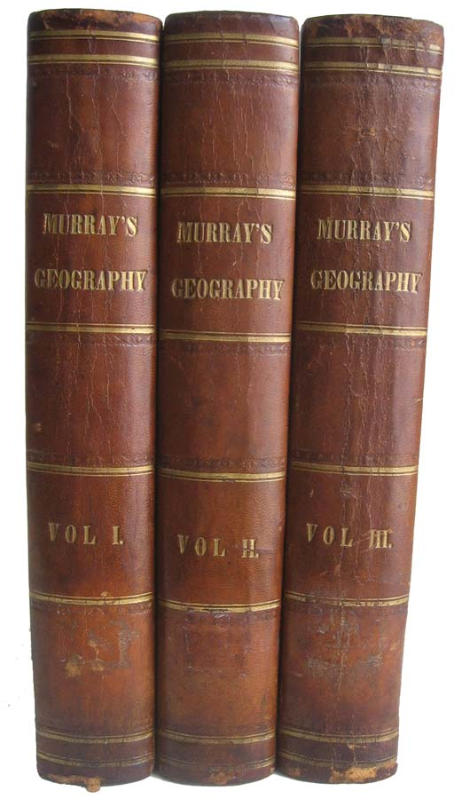 The Encyclopaedia of Geography: Comprising a Complete Description of the Earth, Physical, Statistical, Civil, and Political. Hugh MURRAY.