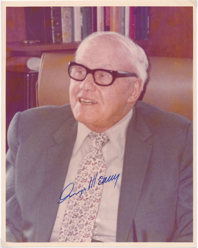 Photograph Signed. George MEANY.