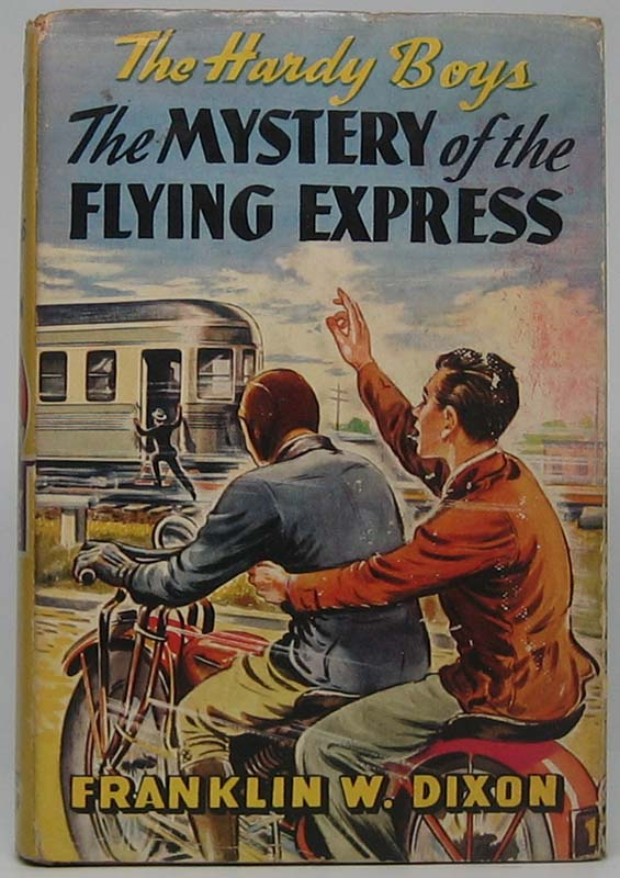 The Mystery of the Flying Express. Franklin W. DIXON.