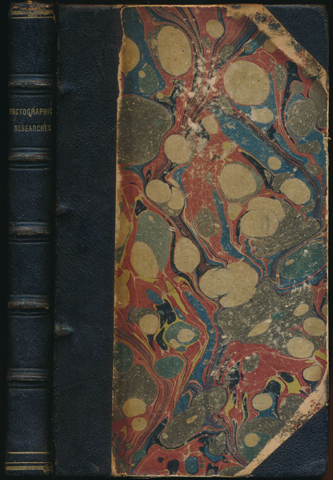 Photographic Researches and Manipulations, Including the Author's Former Treatise on Daguerreotype. L. L. HILL.