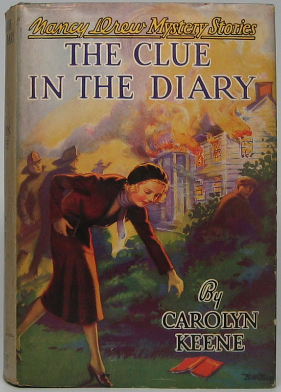 The Clue in the Diary. Carolyn KEENE.