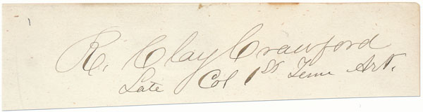 Signature and Rank. R. Clay CRAWFORD.