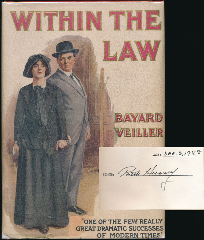 Within the Law. Bayard VEILLER.