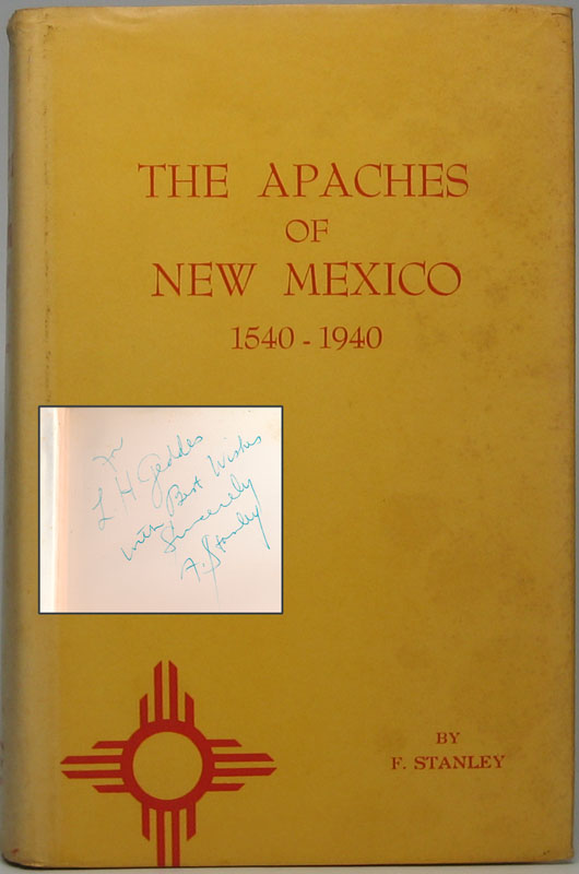 The Apaches of New Mexico 1540-1940. F. STANLEY.