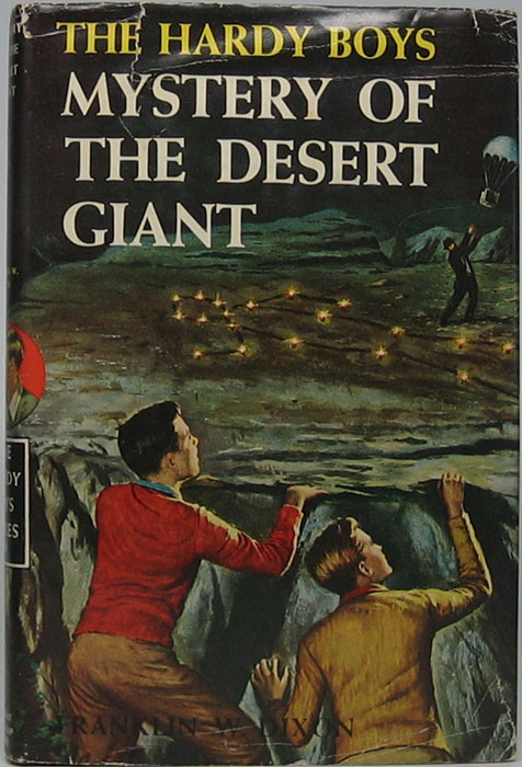 Mystery of the Desert Giant. Franklin W. DIXON.