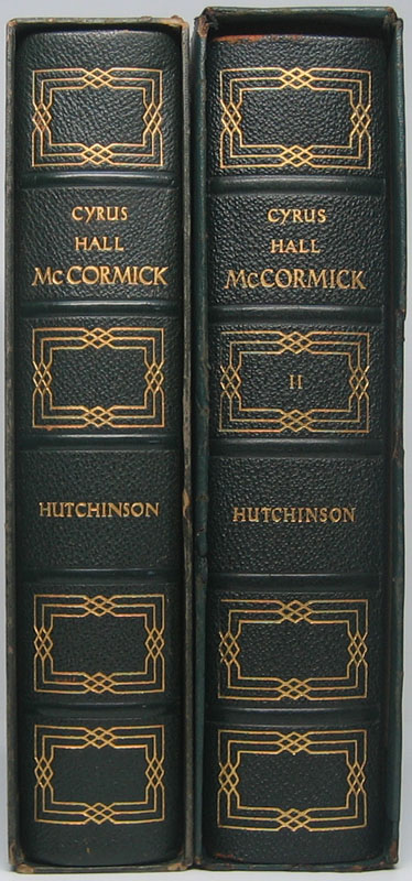 Cyrus Hall McCormick. William T. HUTCHINSON.