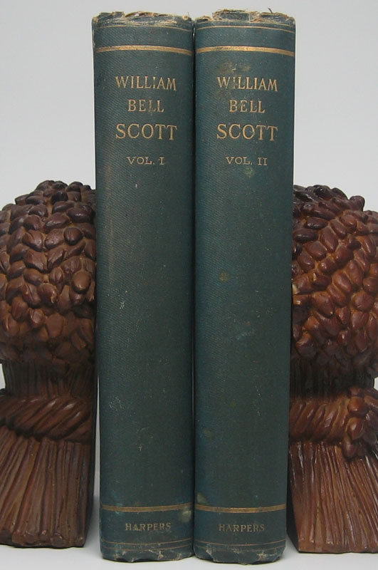Autobiographical Notes of the Life of William Bell Scott... and Notices of his Artistic and Poetic Circle of Friends 1830 to 1882. William Bell SCOTT.