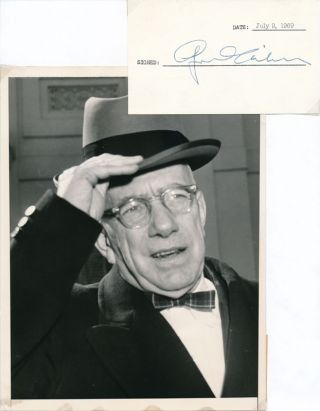 Signature / Unsigned Photograph. George D. AIKEN