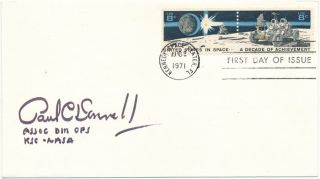 Signed First Day Cover. Paul C. DONNELLY