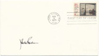 Signed First Day Cover. John Carter BROWN