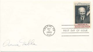 Signed First Day Cover. Bernie NOBLE