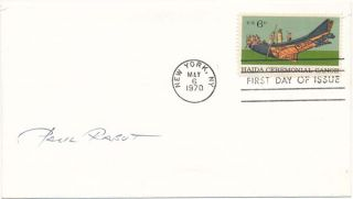 Signed First Day Cover. Paul RABUT