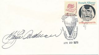 "Signed Commemorative Postal Cover. ""Maxie"" ANDERSON"