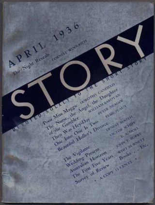 Story: Devoted Solely to the Short Story -- April 1936 (Vol. VIII, No. 45). Whit BURNETT, Martha...
