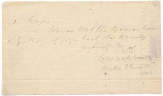 Autograph Note Signed. William MacPHERSON