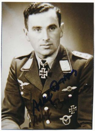 Photograph Signed. Adolf BORCHERS
