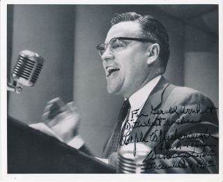 Typed Letter Signed / Inscribed Photograph Signed.