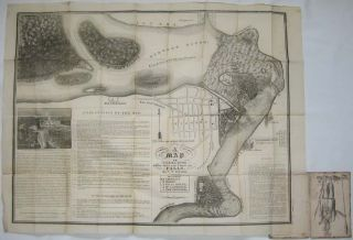 A Map of Niagara River 4 Miles above and 3 below the Falls. G. W. JOHNSON
