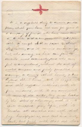 Autograph Manuscript (unsigned). NEW ENGLAND / EDUCATION