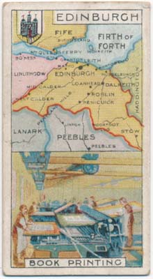 Counties and Industries. CIGARETTE CARDS -- BRITISH