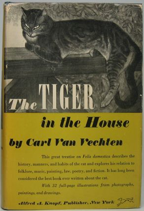 The Tiger in the House. Carl VAN VECHTEN