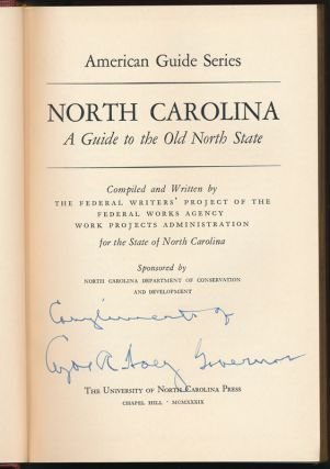 North Carolina: A Guide to the Old North State.