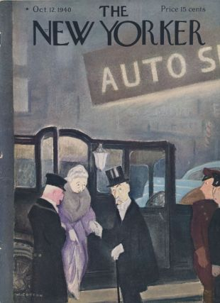 The New Yorker: October 12, 1940. Harold ROSS