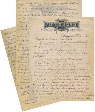 Autograph Letter Signed. Alfred BEIRLY