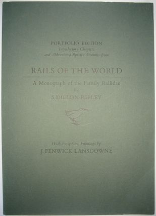 Introductory Chapter and Abbreviated Species Accounts from Rails of the World: A Monograph of the...