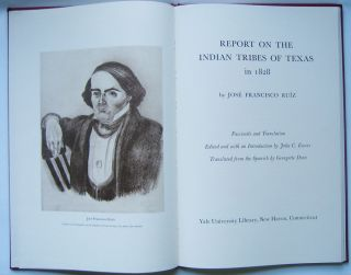Report on the Indian Tribes of Texas in 1828.