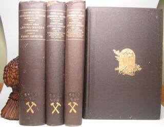 Twenty-First Annual Report of the United States Geological Survey to the Secretary of the Interior 1899-1900.