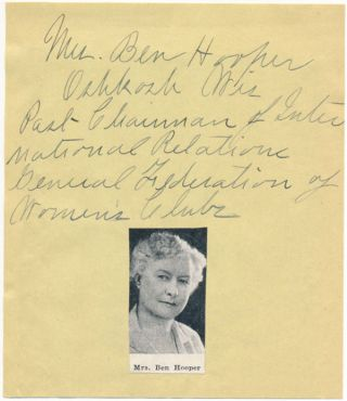 Signature and Title. Jessie HOOPER