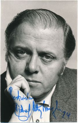 Inscribed Photograph Signed. Richard ATTENBOROUGH