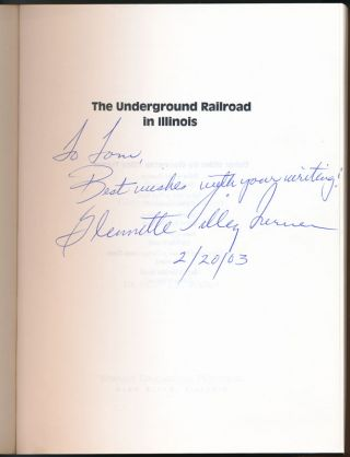 The Underground Railroad in Illinois.