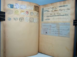 Collection of U.S. Postal Cancellations.