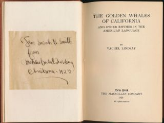 The Golden Whales of California and Other Rhymes in the American Language.