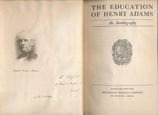 The Education of Henry Adams.